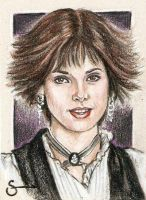 Alice Cullen Sketch Card by scotty309