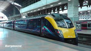 First Great Western 180104 at London Paddington by The-Transport-Guild