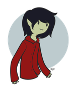 Adventure Time: Marshall Lee by ByPanda