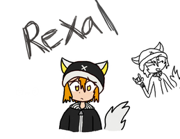 Rexal - First Tablet Drawing by Kurokoge-Onigiri