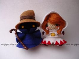 Final Fantasy Mage Amigurumi by AnyaZoe