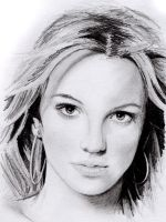 Britney Spears sketch by jlim51