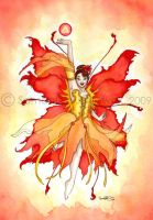 Elemental Faerie Fire by GargoyleGoddess21