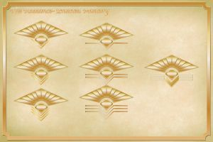 Radiance Enlisted Insignia Comm by JOEYDES
