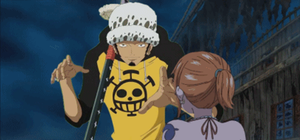 nami KICKING trafalgar law -animation- by muslu