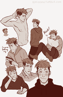 Jean Sketchdump by kim-host