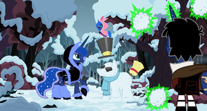 Winter Wonder Equestria by EvilFrenzy