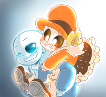 Sans And Colonna by thegreatrouge