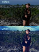Before and After of ... by PorterRetouching