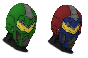 Halo Scorpion Helmet Color by Methados