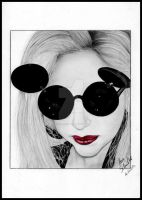 GaGa Mouse by Pencil-Stencil