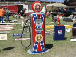Dixie Premium Classic Gas Pump by JShafer