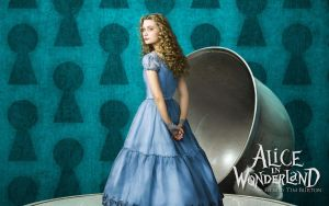 Alice in Wonderland Wallpaper6 by tomjg