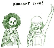Karaoke Time for Ai-Maclean by straw-hat