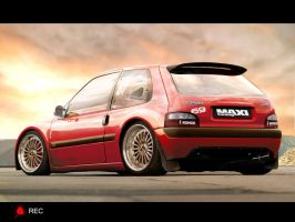 Citroen Saxo by RecDesign