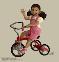 Tricycle by joanniegoulet
