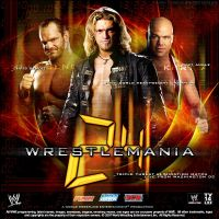 Wrestlemania 24 Fantasy Poster by TheNotoriousGAB