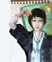 Tom Riddle: Magic is Might. (Young Tom!!) by smallsmiles