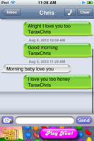 My Good Morning Text by SupernovaSword