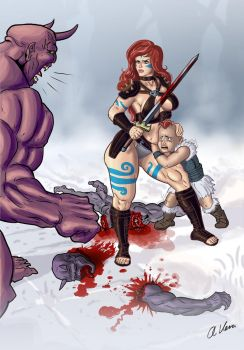 BARBARIAN MOTHER by THOR16000