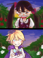 Purple and Red by Tree-kun