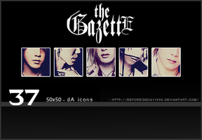 the GazettE dA 50x50 Icon Set by BeforeIDecay1996