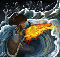 LoK: Smoke on the Water by ExplosiveCoffee