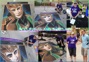 2012 Chalk Art Festival! by sugarpoultry