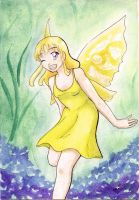 The Yellow Fae by Marichromatic