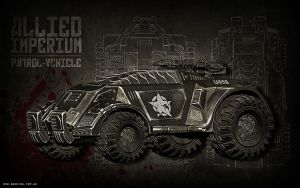 Allied Imperium Patrol Vehicle by BadKingOnline