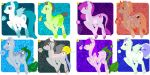 Adopts PONYS- 37 points by KasTheDemhon