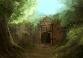 The temple by eliz7