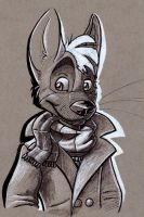 Inktober day 28 by CoyoteEsquire