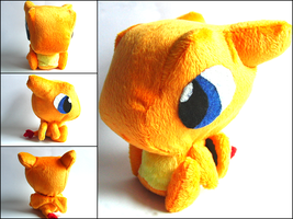 Charizard Plush by CraftKiwi