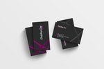 Simple Hairstylist Business Card PSD by Anuya