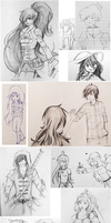 Adventure Time sketch dump by Suzanne98