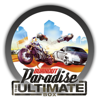 Burnout Paradise The Ultimate Box - Icon by Blagoicons