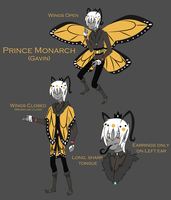 New Oc: Prince Monarch by XombieJunky