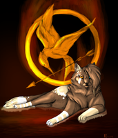 Mocking Jay by CaledonCat