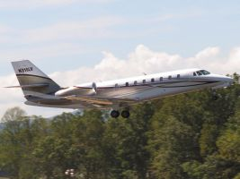 Citation Sovereign Takeoff by InDeepSchit