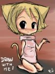 Draw with me Chibi by DrawingRobinsArt