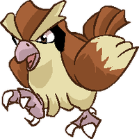 Personnages Libres : 016 Pidgey by Mechamyu