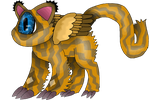 Winged One Eyed Ocicat by GNGTNT105