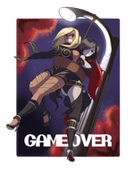 Commission - Game Over by HeartGear