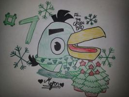 12 Days of Angry Birds Christmas: Day 7 by MeganLovesAngryBirds