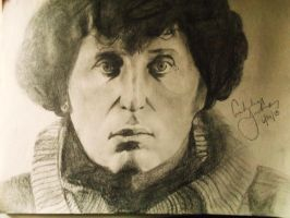 Tom Baker a.k.a 4th Doctor on Doctor Who by AshleyMarieSieber