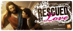 Rescued by Love - Brochure by charz81