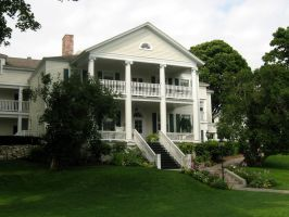 Mackinac Island House 3 by Jenna-RoseStock
