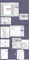 Line Art Tutorial by larein