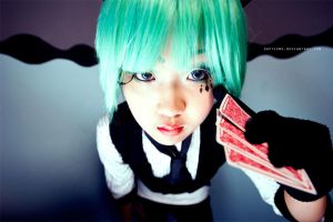 Vocaloid Pokerface ::02 by Septieme